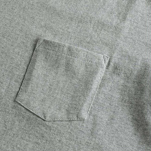 United Athle 4253-01 7.1oz 超重磅短袖有袋T恤