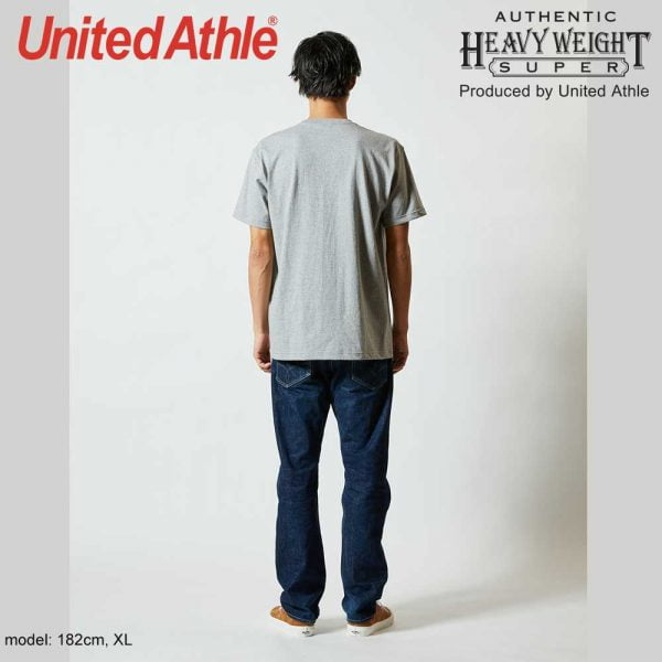 United Athle 7.1oz Heavy Weight Adult Cotton Pocket T-shirt 4253-01 Navy 086