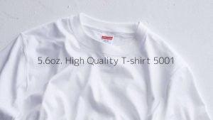 United Athle 5001-01 新款優質潮流全棉日本T恤