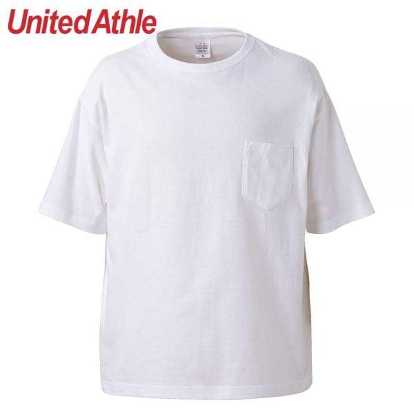United Athle 5.6oz Adult Cotton Oversized T-shirt 5008-01 White