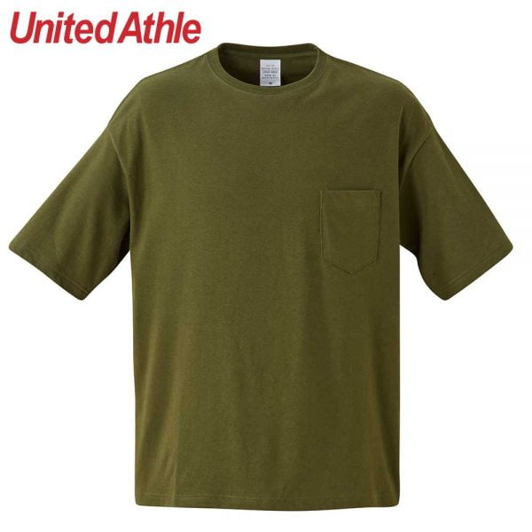 United Athle 5.6oz Adult Cotton Oversized T-shirt 5008-01 Dark Green