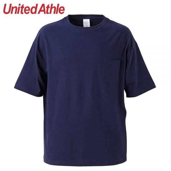 United Athle 5.6oz Adult Cotton Oversized T-shirt 5008-01 Navy