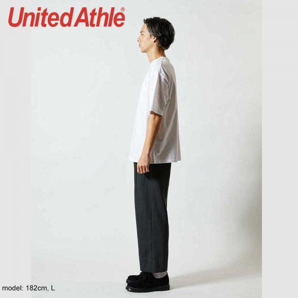 United Athle 5.6oz 5008-01 Oversized 有袋T恤