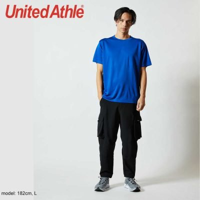 United Athle 5088-01 Unisex DRY SILKY TOUCH 快乾衫