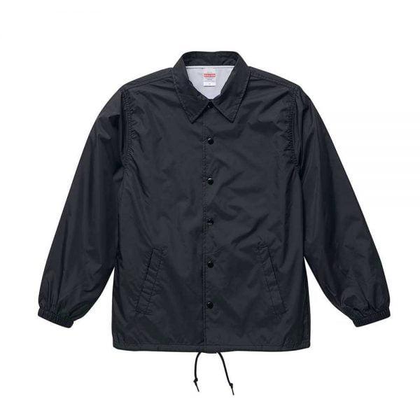 United Athle 7079 T/C Baseball Jacket - Black