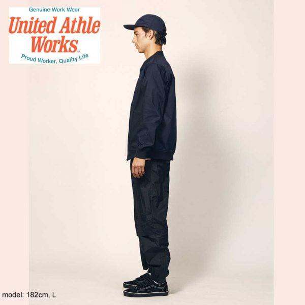 United Athle 7079 T/C Baseball Jacket - Khaki
