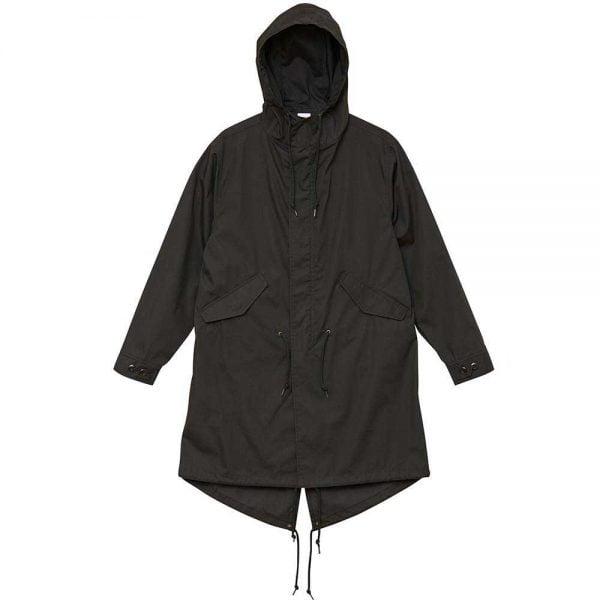 United Athle 7447 T/C Military Long Jackets - Black