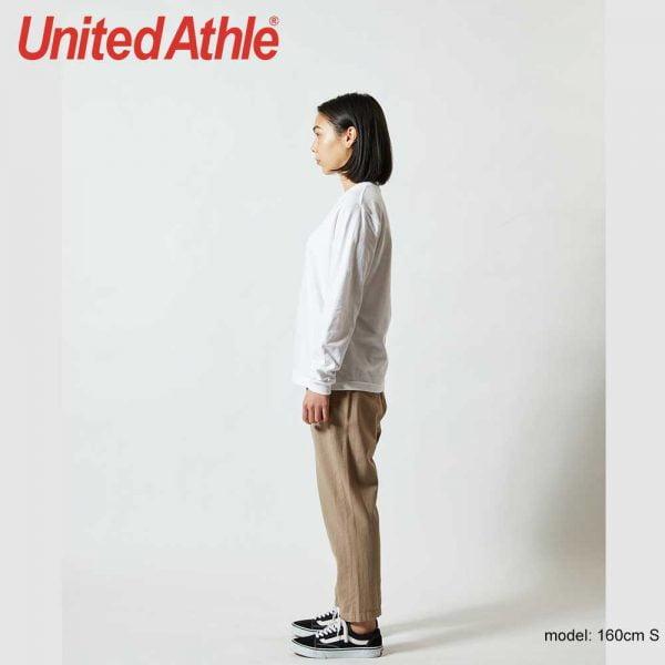 United Athle 5011-01 5.6oz 全棉長袖T恤