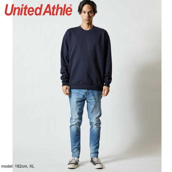 United Athle 5044-01 10.0 oz 純棉魚鱗布衛衣