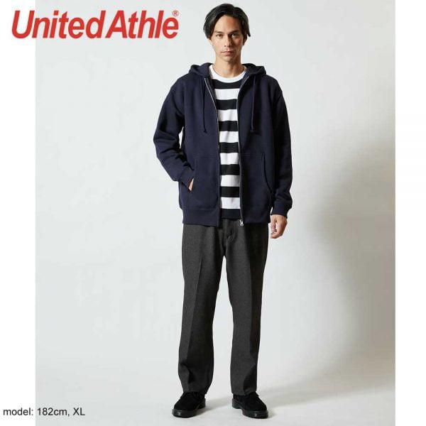 United Athle 5620-01 10.0oz 抓毛連帽拉鍊衞衣