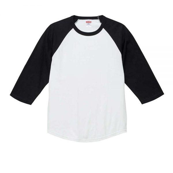 United Athle 5045-01 5.6oz 七分袖牛角袖 T恤