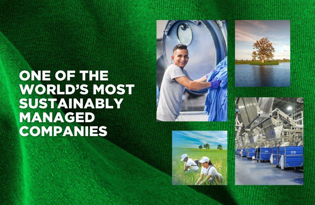 被評為全球最可持續管理的公司之一
