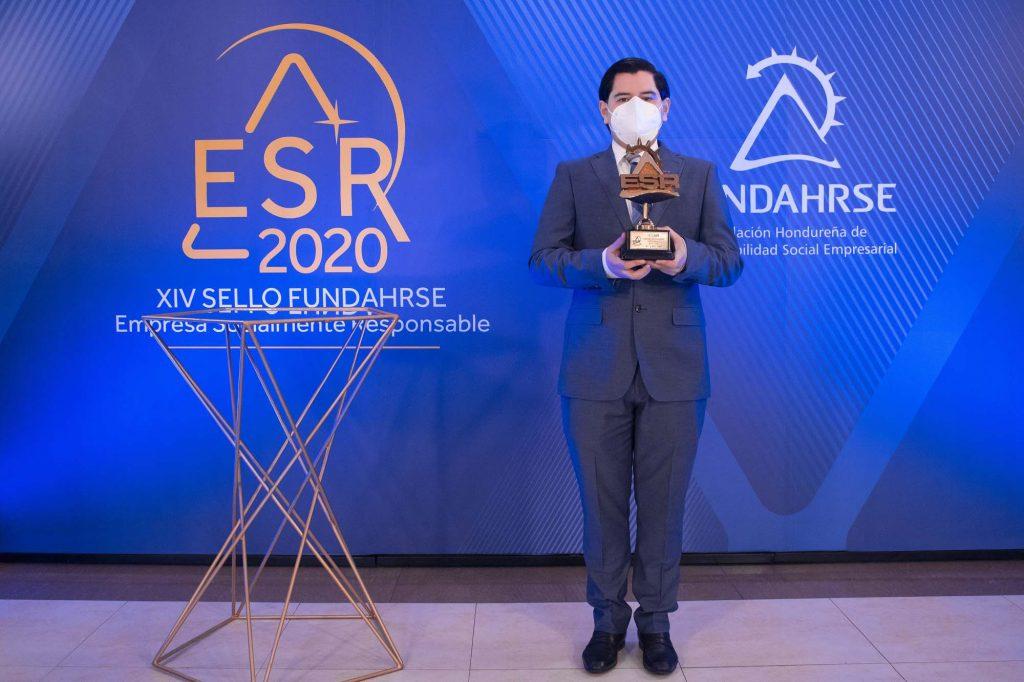 洪都拉斯 ESG 工作的第13個 FUNDAHRSE 印章