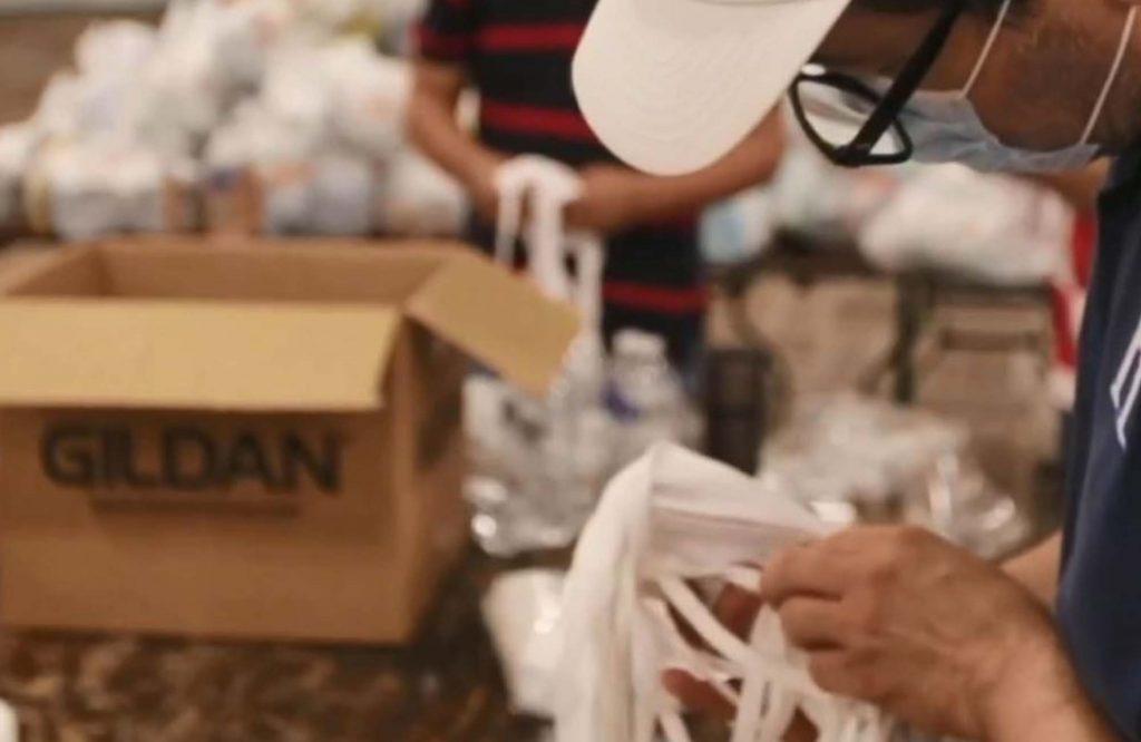 人道主義援助,以支持受埃塔和愛奧塔颶風影響的人