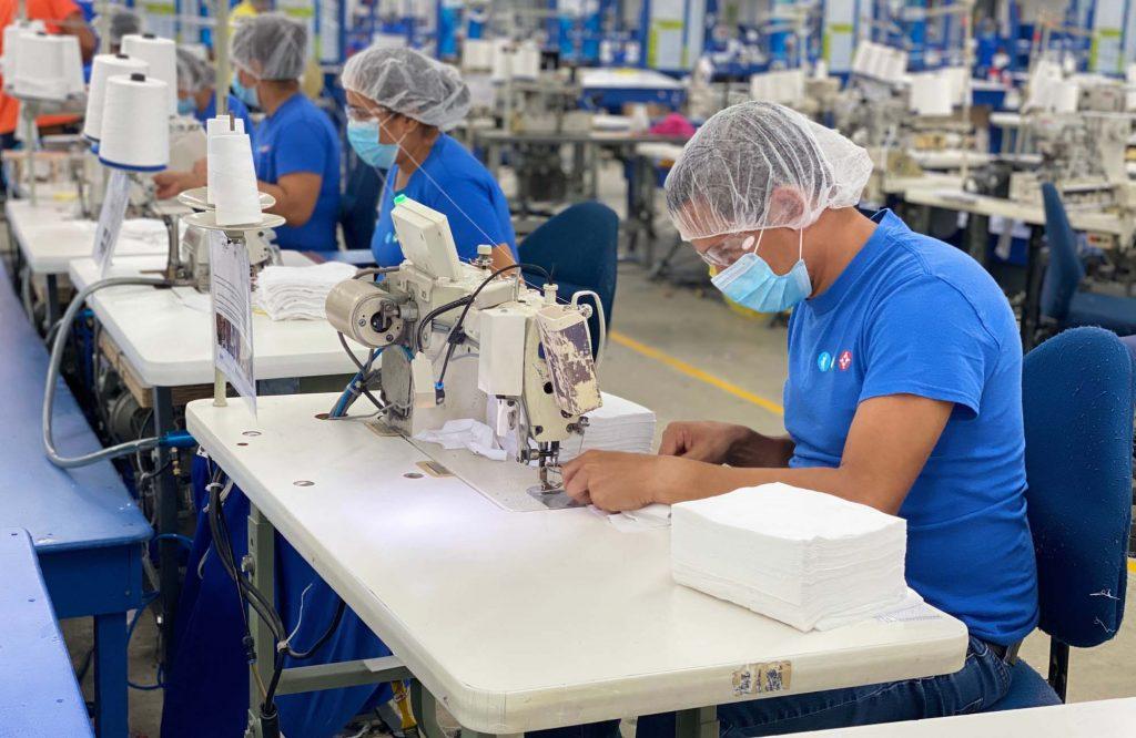 個人防護裝備(PPE)的生產