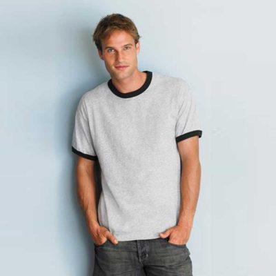 Gildan 2600 Ultra Cotton Adult Ringer T-Shirt (US Size)
