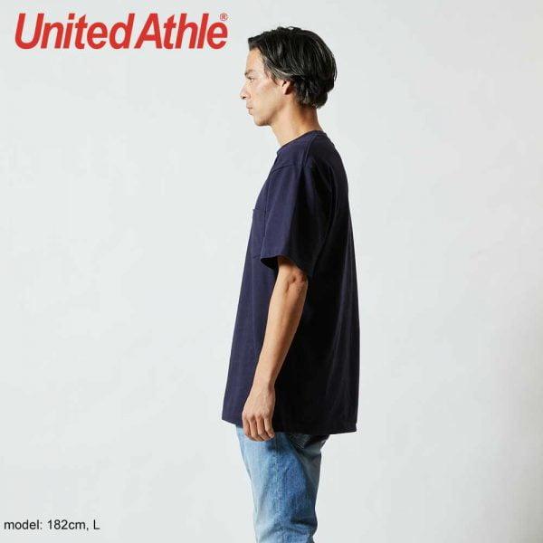 United Athle 5006-01 5.6oz 全棉有袋T恤